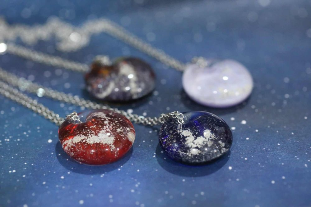 Pet Ash Pendant Pet Ashes Jewelry Pet Cremation Crystal Pendant Pet Memorial Jewelry