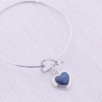 Ash Necklace Cremation Necklace Ash Jewelry Stainless Steel and Pewter Pendant Cremation Jewelry Pet Loss Urn Jewelry