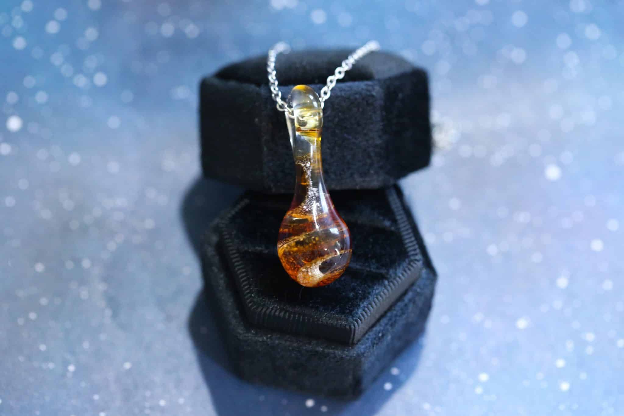 Beaded Jewelry Custom Made Memorial Pendant Cremation Jewelry Memorial Jewelry *You fill option Urn Pendant Cremation Pendant
